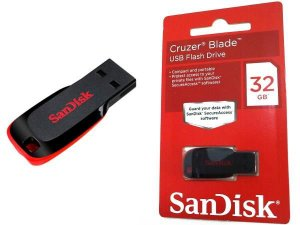 PENDRIVE 32 GB USB 2.0 SANDISK
