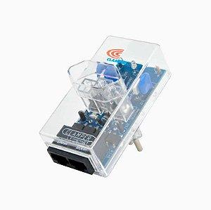 Protetor DPS iCLAMPER Energia + Ethernet PoE - (Transparente)