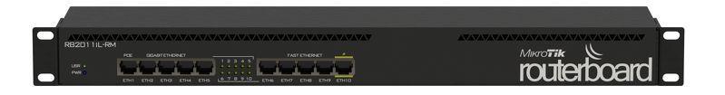 MIKROTIK - ROUTERBOARD RB2011iL-RM 600Mhz 64Mb 128Mb L4