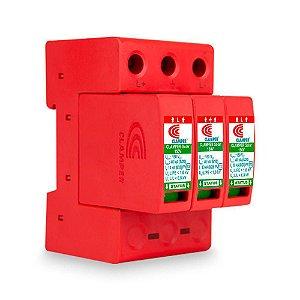 Protetor DPS CLAMPER Solar 150V 40kA/SR (Trilho)
