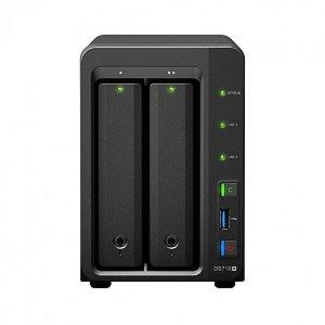 Servidor NAS Synology DiskStation DS718+ 2 Baias (expansível até 7 baias) – DS718+