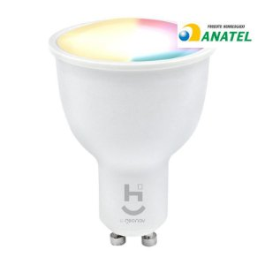 HI GEONAV LAMPADA DICROICA INTELIGENTE RGB+W 2700/6500 BRANCO QUENTE E FRIO