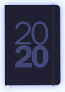 Agenda Semanal Marfim Azul Redoma