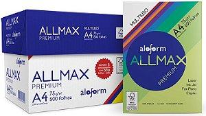 Papel Sulfite A4 Allmax 75 G 05 Pacotes 5000 Folhas