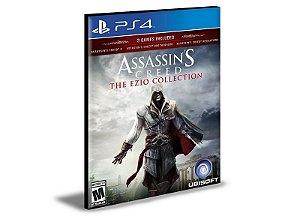 ASSASSIN'S CREED THE EZIO COLLECTION PORTUGUÊS PS4 E PS5 PSN MÍDIA DIGITAL