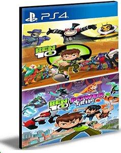 BEN 10 BUNDLE PS4 E PS5 PSN MÍDIA DIGITAL
