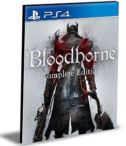 BLOODBORNE COMPLETE EDITION BUNDLE PORTUGUÊS PS4 E PS5 PSN MÍDIA DIGITAL