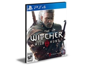 THE WITCHER 3 WILD HUNT - PS4 PSN MÍDIA DIGITAL