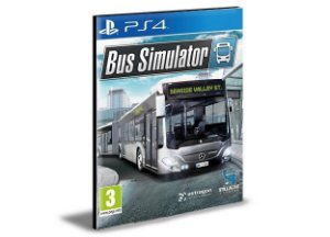 Bus Simulator - PS4 PSN MÍDIA DIGITAL