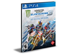 Monster Energy Supercross - The Official Videogame 3 - PS4 PSN MÍDIA DIGITAL
