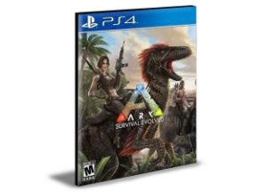Ark Survival Evolved - Ps4 Psn Mídia Digital