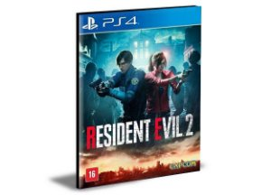 RESIDENT EVIL 2 - PS4 PSN MÍDIA DIGITAL