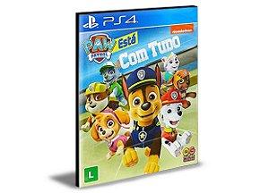A Patrulha Canina Tá Com Tudo!  - PS4 & PS5 - PSN MÍDIA DIGITAL