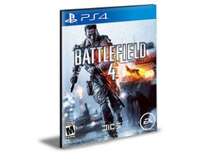 Battlefield 4 - Ps4 Psn Mídia Digital