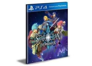 STAR OCEAN FIRST DEPARTURE R - PS4 PSN MÍDIA DIGITAL