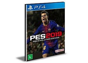 PES 19 STANDARD EDITION - PS4 PSN MÍDIA DIGITAL