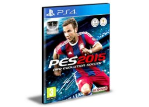 PES 15 - PS4 PSN MÍDIA DIGITAL