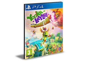 YOOKA LAYLEE AND THE IMPOSSIBLE LAIR - PS4 PSN MÍDIA DIGITAL