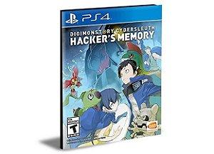 DIGIMON STORY CYBER SLEUTH HACKERS MEMORY - PS4 PSN MÍDIA DIGITAL