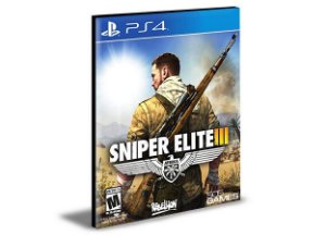 SNIPER ELITE 3 - PS4 PSN MÍDIA DIGITAL