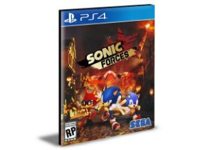 SONIC FORCES Digital Standard Edition - Ps4 Psn Mídia Digital