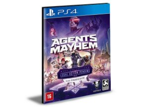 Agents Mayhem - PS4 & PS5  - Psn - Mídia Digital
