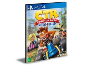Crash Team Racing Nitro Fueled Ps4 Mídia Digital