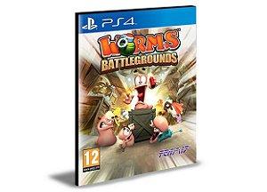 Worms Battlegrounds - Ps4 Psn Mídia Digital
