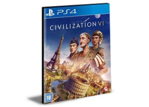 SID MEIER'S CIVILIZATION VI - PS4 PSN MÍDIA DIGITAL