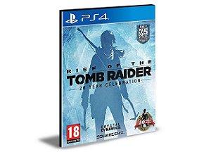 Rise of The Tomb Raider 20 Year Celebration - Ps4 Psn Mídia Digital