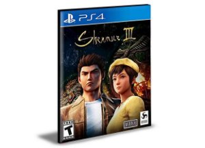 SHENMUE 3 - PS4 PSN MÍDIA DIGITAL