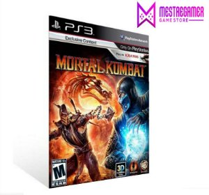 MORTAL KOMBAT 9 - PS3 PSN MÍDIA DIGITAL