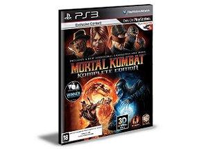 MORTAL KOMBAT 9 - PS3 PSN MÍDIA DIGITAL