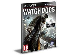 WATCH DOGS - PS3 PSN MÍDIA DIGITAL