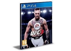 UFC 3 - PS4 PSN MÍDIA DIGITAL