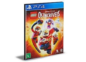 LEGO OS INCRÍVEIS - PS4 PSN MÍDIA DIGITAL