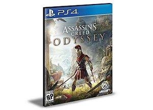 ASSASSINS CREED ODYSSEY  PORTUGUÊS  PS4  PSN  MÍDIA DIGITAL