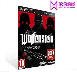 WOLFENSTEIN THE NEW ORDER - PS3 PSN MÍDIA DIGITAL