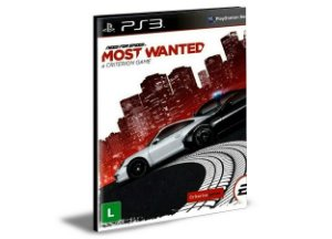 NEED FOR SPEED MOST WANTED - PS3 PSN MÍDIA DIGITAL