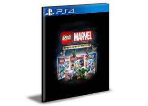 Coleção LEGO Marvel  - PS4 PSN Mídia Digital