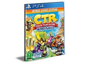 Crash Team Racing Nitro-Fueled - Nitros Oxide Edition - PS4 PSN Mídia Digital