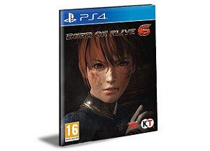Dead Or Alive 6 - PS4 PSN Mídia Digital