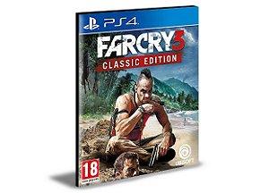 Far Cry 3 Classic Edition - PS4 PSN MÍDIA DIGITAL