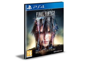 FINAL FANTASY XV ROYAL EDITION - PS4 PSN MÍDIA DIGITAL