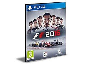 F1 2016 - PS4 PSN MÍDIA DIGITAL