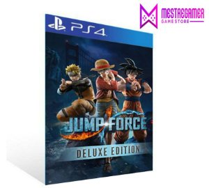 Jump Force Edição Deluxe Edition - PS4 PSN MÍDIA DIGITAL