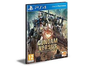 GUNDAM VERSUS  - PS4 PSN MÍDIA DIGITAL