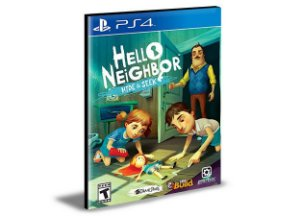 Hello Neighbor Hide and Seek  - PS4 PSN MÍDIA DIGITAL