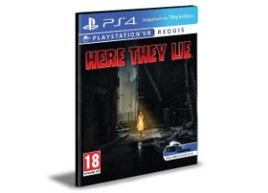 Here they lie - PS4 PSN MÍDIA DIGITAL