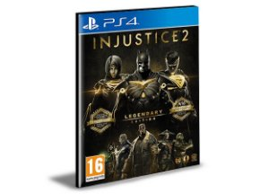 Injustice 2 - Legendary Edition Português - PS4 PSN MÍDIA DIGITAL